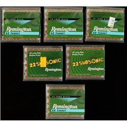 600 Rounds of Mixed Remington .22LR Ammo
