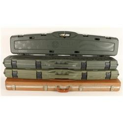 Lot of 4 Hard Cases for Rifles
