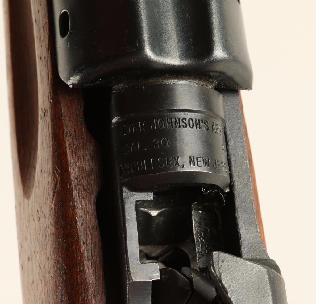Iver Johnson Enforcer  30 Cal SN: BA00362