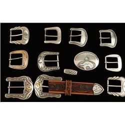 Lot of 11 Buckles