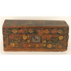 Antique Mexican Trunk