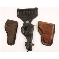 Collection of 3 Holsters