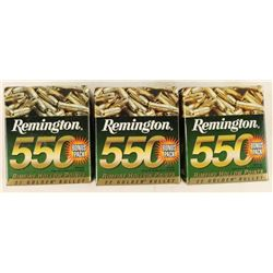 1,650 Rounds of Remington HP .22 LR Ammo