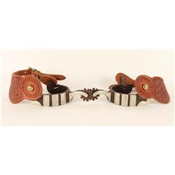 Pair of Professional's Choice Spurs