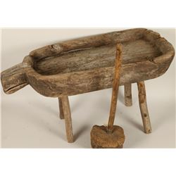 Rustic Wooden Cheese Maker