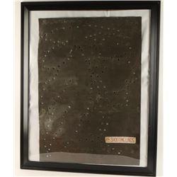 Dot & Ernie Lind Framed Shooting Pattern