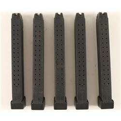 (5) Glock Mags