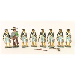 Collection of 8 Lead Soldiers