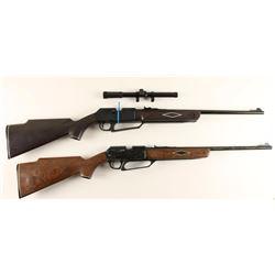 (2) Daisy Powerline 880 Air Rifles