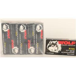 Wolf 45 Auto Ammo