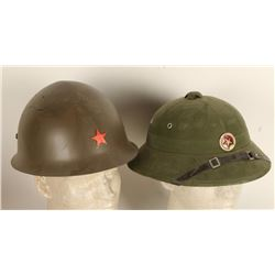 Lot of 2 Military Hats