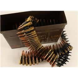 220 Rounds of Belted 7.62x51 Ammo