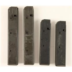 (4) Factory Colt AR-15 Sporter 9mm NATO Mags