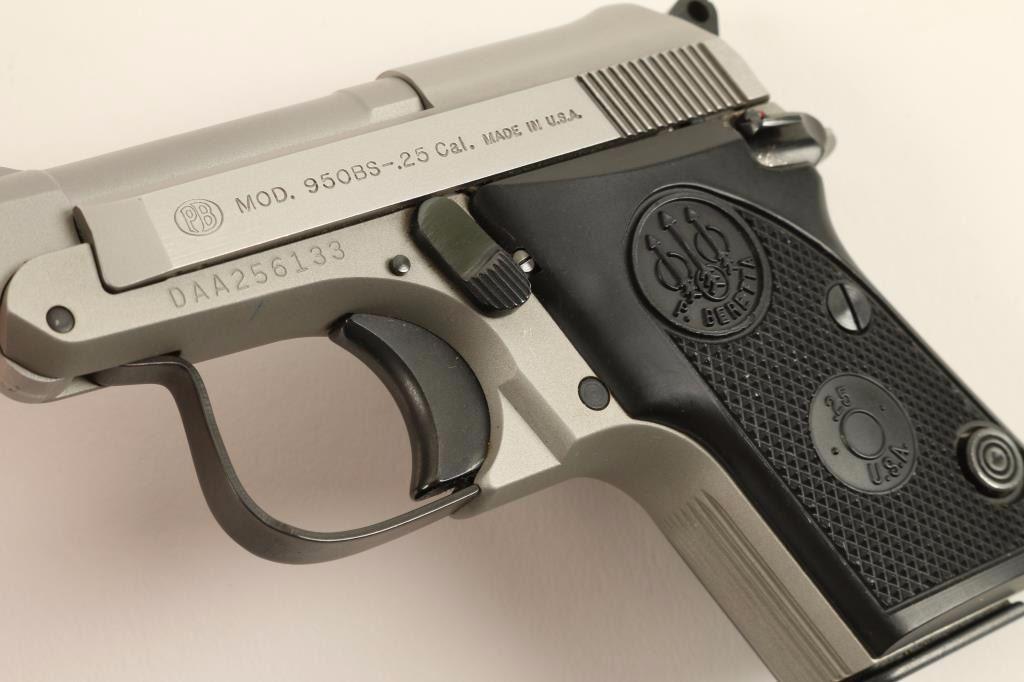 Beretta 950 Inox  25 ACP SN: DAA256133