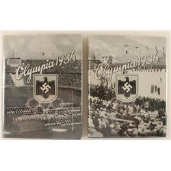 Lot of 2 Nazi Olympic 1936 Collector's Books