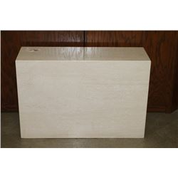 White Marble Bronze Stand