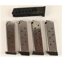 Lot of 5 Mags