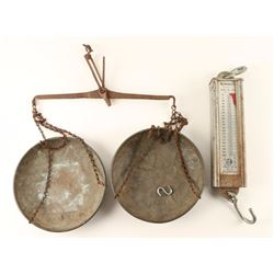 Lot of 2 Hanging Scales