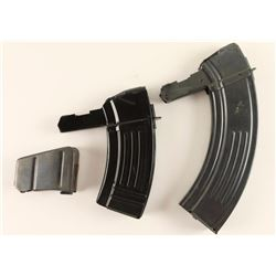 Lot of 2 SKS Mags & 1 Enfield Mag