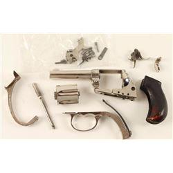 Colt 1877 Lightning .38 Parts Lot