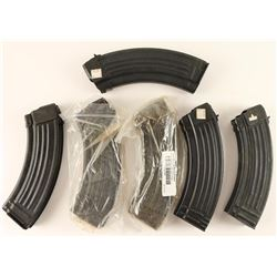Lot of 6 AK-47 Mags