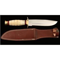 "D2 Tool Steel ""USMC K-Bar Style"" Fighting Knife"
