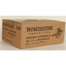 200 Rounds of Winchester 20Ga Shotshells