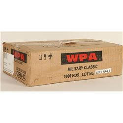 1,000 Rounds of Wolf HP 7.62x39 Ammo