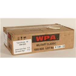 1,000 Rounds of Wolf SP 7.62x39 Ammo