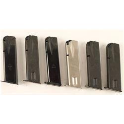 (6) Sig Sauer P226 Mags