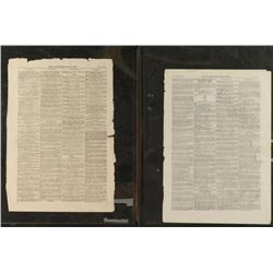 1857 London Newspaper Pages