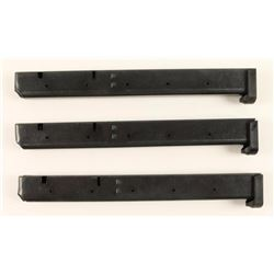 (3) Aftermarket Colt AR-15 Mags