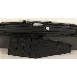 (2) Rifle Hard Cases and (1) Small Rifle Boot