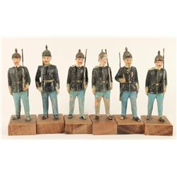 Lot of 6 Toy Soldiers