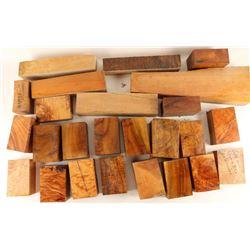 Large Lot of Myrtle Wood