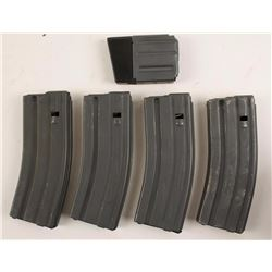 Lot of 5 Colt Mags