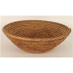 Jicarilla Apache Basketry Food Bowl