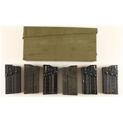Lot of 6 H&K G3 Magazines