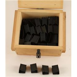 Wood Box with Clips