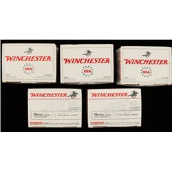 500 Rounds of Winchester 9mm FMJ Ammo