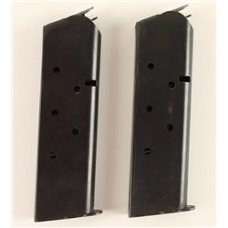 (2) Colt Factory 1911 Mags