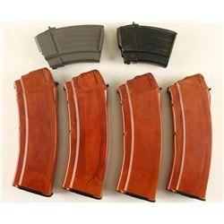 (6) AK-47 Mags