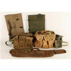 Lot of Canvas Ammo Bags