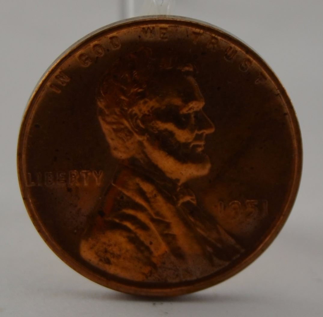 1951 Proof Lincoln Wheat Penny