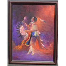 COMANCHE PAINTING (NEVAQUAYA)