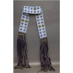 NEZ PERCE BEADED BELT