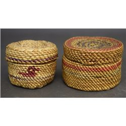 TWO MAKAW BASKETS