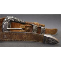 WESTERN RANGER BUCKLE AND BELT