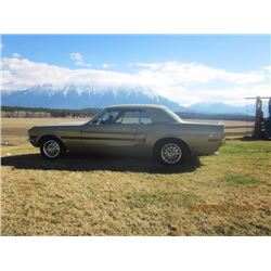 1968 FORD MUSTANG-CALIF SPEC