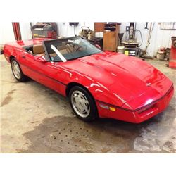1988 CHEV CORVETTE CONVERTIBLE